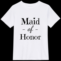 Maid of Honor - T-shirt