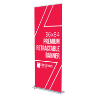 36x84 Premium Retractable Banner