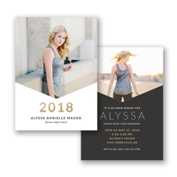 Graduation and Wedding Announcements!