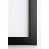 A4 Framed Print Vertical - 30mm Black Frame
