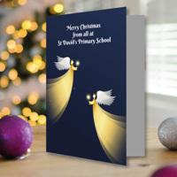 50 x A5 Portrait Angel Christmas Cards