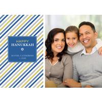 Hanukkah Stripes: 10pk Hanukkah Cards