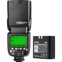 Godox-Ving V860IIN TTL Li-Ion Kit for Nikon-Flashes and Speedlights