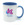 Colour mug 11oz Navy Blue. Free layout - SM05NB