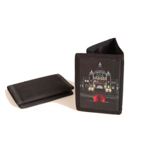 Black Trifold Wallet Vertical
