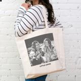 PG-890 - Linen Tote Bag