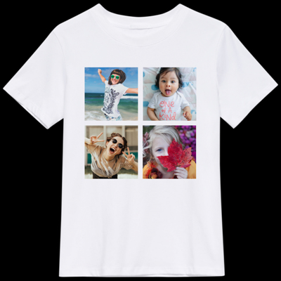 4 Photos Collage T-Shirt