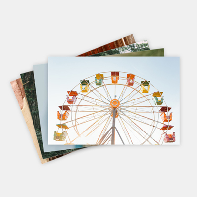 Cardstock Creative Print Set 4x6