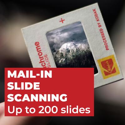 Slide Scanning - Up to 200 Slides