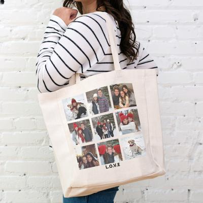 PG-897 - Linen Tote Bag