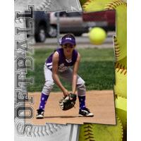 16 x 20 Softball Poster