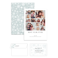 Best Year Ever<br>5x7 Double Sided<br>Envelope