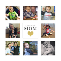 8x8 MDF Wall Panel (Mom Collage)
