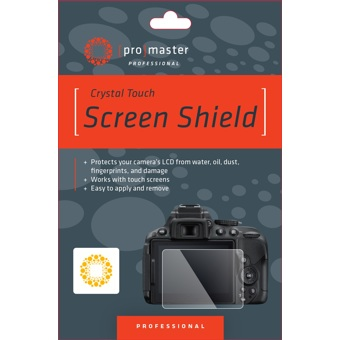Crystal Touch Screen Shield for Nikon D750 #4282