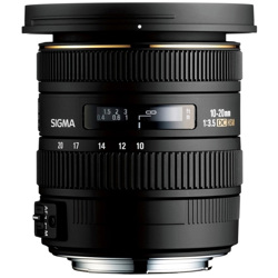 Sigma-10-20mm F3.5 EX DC HSM for Canon-Lenses - SLR & Compact System