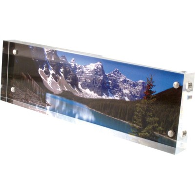 Clear Acrylic Visionblox 4x11 Panoramic