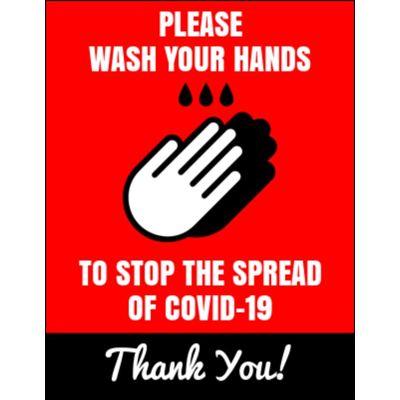 8.5 x 11 Covid-19 Poster M4