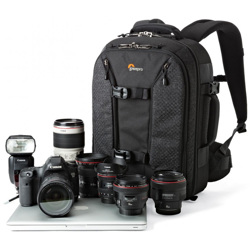 Lowepro-Pro Runner BP 350 AW II - Black-Bags and Cases