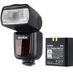 Godox-Ving V860IIO TTL Li-Ion Kit for Olympus-Flashes and Speedlights