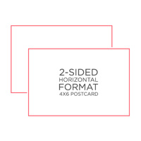 25-Pack 4x6 Postcards