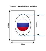 Russia Passport Photo Templates