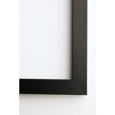 A5 Framed Print Vertical - 20mm Black Frame