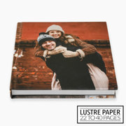 10x10 Layflat Hardcover Photo Book / Lustre Paper (22-40 Pages)