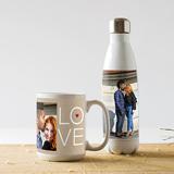 Mugs, Water Bottles, Koozies, & Travel Mugs