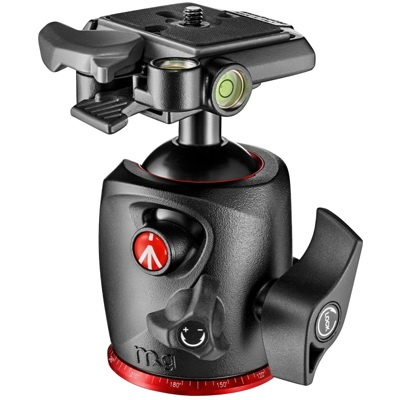 Manfrotto-XPRO Ball Head in Magnesium with 200PL Plate #MHXPRO-BHQ2-Tripod Heads