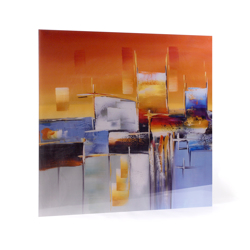 """30x30 Acrylic 1/4"""" thick  (square) - Floating Frame Mount"""