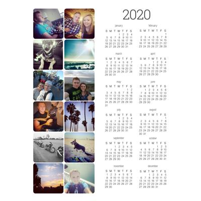 Magnet Calendar (20-03)