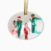PG Ornament Glass - Oval Horizontal