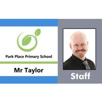 Staff ID Card with Lanyard