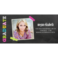 Graduation Card  (14-088-4x8) 1-sided photo card