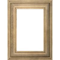 4x6 Vertical Light Brown Wood Frame