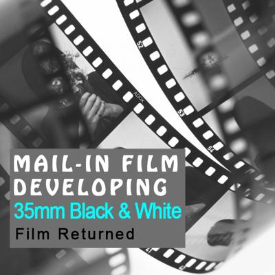 Film Developing - 35mm Black & White