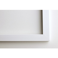 A4 Framed Print Horizontal - 20mm White Frame