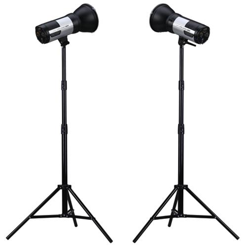 ProMaster-Unplugged M400 2-Light Kit #6761-Studio Lighting Kits