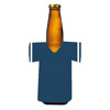 Jersey Bottle Koozie (Plain Blue)