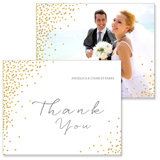 Confetti - 2 Sided Thank You
