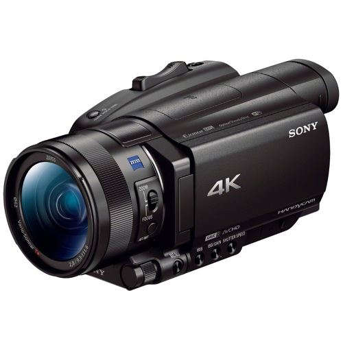 Sony-FDR-AX700 4K HDR Handycam Camcorder-Video Cameras