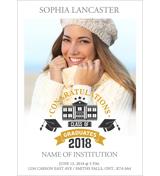 Grad Card - F