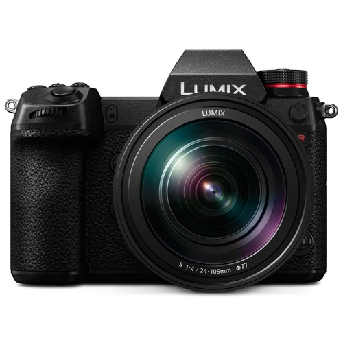 Panasonic-LUMIX S1R - DC-S1RMK Digital Mirrorless Camera with 24-105mm Lens-Digital Cameras