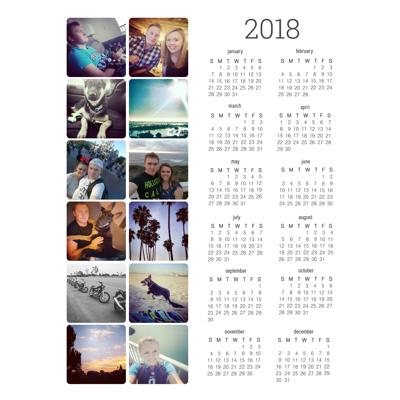 Magnet Calendar (18-02)