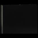 7x9 Classic Style Cuir Noir