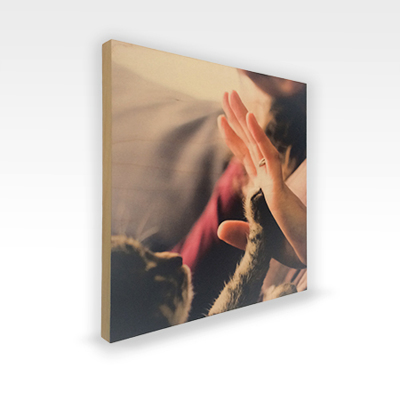 "8x8 Maple Wood Print (.5"")"