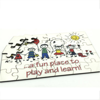 Hardboard Puzzle. Free layout. code: PZ08HB