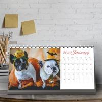 """2020 Desktop Calendar 10"""" x 5"""""""