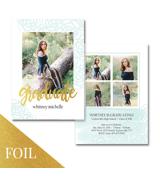 Grad Card (18-185-7x5) Foil