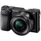 Sony-A6000 Interchangeable Lens Camera with E PZ 16-50mm F3.5-5.6 OSS Lens-Digital Cameras